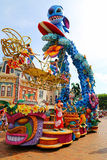 Lilo and stitch at disney parade Stock Photo