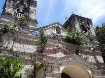 Liloan Cebu старое Chruch Стоковые Изображения RF
