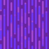 Lilor mönstrar seamless vektor för modell Festlig modell med irregularlinjer och rundade hörn Arkivfoto