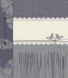 Lilor täcker med kopieringsutrymme för text Royaltyfri Foto