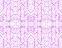 Lilow abstrakcjonistyczny bezszwowy wzór Fotografia Royalty Free
