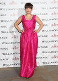 Lily Allen. Aka Lily Cooper at WilliamVintage - VIP private dinner held at St Pancras Renaissance Hotel, London, England. 08/02/2013 Picture by: Henry Harris / Royalty Free Stock Photos