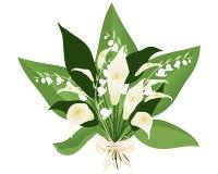 Lily arrangement Stock Images