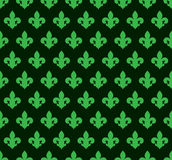 Lily_background_green_14 向量例证