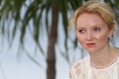 Lily Cole Stock Image