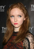Lily Cole Royalty Free Stock Photos