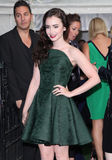 Lily Collins Stock Photos