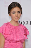 Lily Collins Stock Images