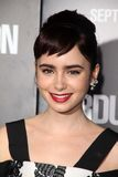 Lily Collins Stock Image