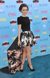Lily Collins. LOS ANGELES, CA - AUGUST 11, 2013: Lily Collins at the 2013 Teen Choice Awards at the Gibson Amphitheatre, Universal City, Hollywood Stock Image