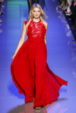 Lily Donaldson Walks The Runway During The Elie Saab Show Stock Images