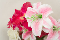 lily flower decoration Stock Photography