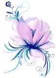 Lily Flower Decorative Element creativa Fotos de archivo libres de regalías