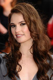 Lily James Royalty Free Stock Photos