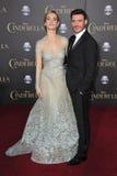 Lily James & Richard Madden imagem de stock royalty free