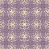 Lily kwiecisty wzór Zdjęcia Stock