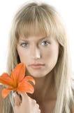 lily pomarańcze Zdjęcie Stock