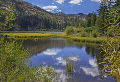 Lily Pond Lake, South Lake Tahoe, CA Stock Image