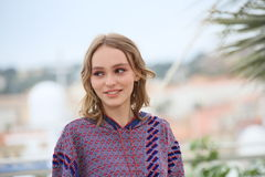 Lily-Rose Depp stock foto