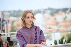 Lily-Rose Depp Stock Image