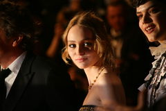 Lily-Rose Depp, Soko Royalty Free Stock Photography