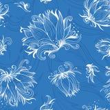 Lily Sketch Vector Pattern Image libre de droits