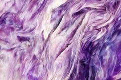 Lily tło Charoite mineralisation crystal Naturalny abstrakcjonistyczny b obraz stock