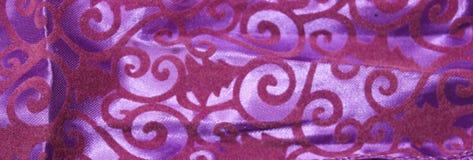 Lily tekstylny tło z aksamitnymi wzorami fotografia stock
