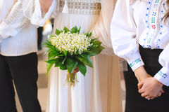 Lily of Valley Bouquet Stock Image