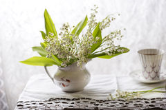 Lily of the valley bouquet Royalty Free Stock Photography