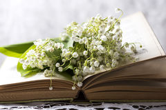 Lily of the valley bouquet Stock Photo