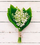 Lily of the valley bouquet Royalty Free Stock Image