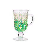 Lily of the valley on glass. Stock Images