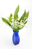 Lily-of-the-valleyblumenstrauß Lizenzfreies Stockbild