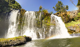 Lily waterfall of Ampefy, Madagascar Royalty Free Stock Photo