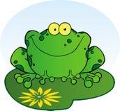 lilypad лягушки счастливое бесплатная иллюстрация