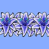 LilyVector-04 Royaltyfri Bild