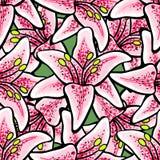 LilyVector-07 Royaltyfri Bild