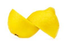 Limão - amarelo Foto de Stock