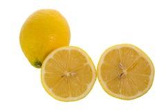Limão amarelo Fotos de Stock