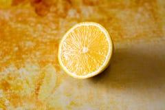 Limão amarelo Imagem de Stock Royalty Free