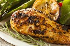 Limão caseiro e Herb Chicken fotos de stock