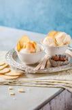 Limão Curd Ice Cream Imagens de Stock Royalty Free