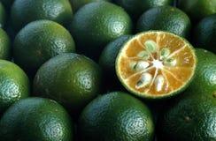 Limão de Calamansi Imagens de Stock