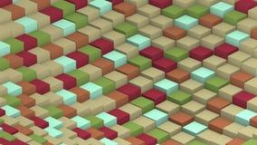 Limão de para transformar o laço do cubo ilustração stock