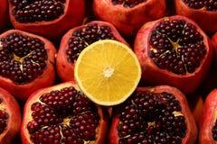 Limão em grandada Imagem de Stock Royalty Free