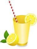 Limão Juice Summer Refreshment ilustração stock