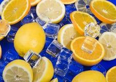 Limão & laranja fotografia de stock