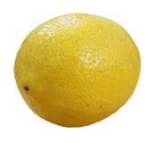 Limão maduro amarelo isolado imagens de stock