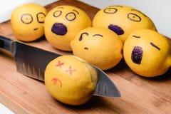 Limão matado Imagens de Stock
